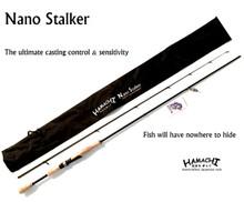 2018 HAMACHI 7' Nano Stalker 4 - 8 LB Japanese spin fishing rod