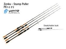 2017 Hamachi Zenku Nano Jig 5'2 PE 1 - 3 Japanese jigging fishing rod - Conventional / overhead
