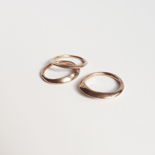 Tria Stacking Rings