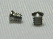 Sport7 French Foil Screws (x2) Front view and side view