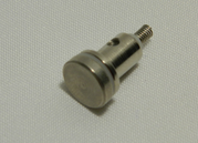 Sport7 French Epee Tip with pressure spring Front view