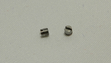 Sport7 French Epee Screws (x2) Side view and top view