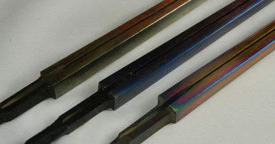 STM/Regular (non-FIE) Blade come in Silver, Blue and Multi-Colored