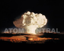 """Photograph H-Bomb """"Ivy Mike"""", 1952"""