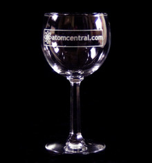 AtomCentral Wine glass