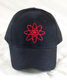 Black Cap with Atomic Symbol
