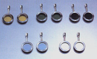 Meiji MA758 ND8, neutral density filter in mount for COX vertical illuminator