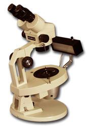 Meiji GEMZ-5 Gemological Binocular / Trinocular Stereo Zoom Microscope