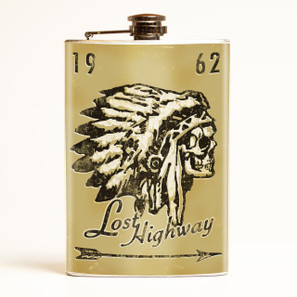 Lost Highway Flask-OUT OF STOCK -