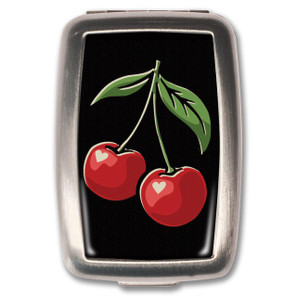 Black Cherries Pill Box -