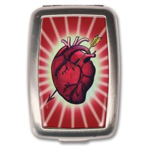 Bleeding Heart Pill Box