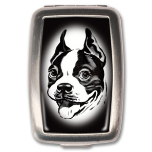 Boston Terrier Pill Box - 0641938654974