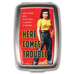 Here Comes Trouble Pill Box