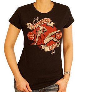 Tattooed Lady Women's T-Shirt
