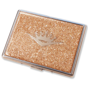 Crown Royale Champagne Glitter Cigarette Case