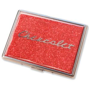 Chevrolet Flame Red Glitter Cigarette Case*