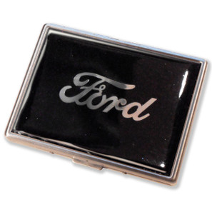 Ford Script Black Star Cigarette Case