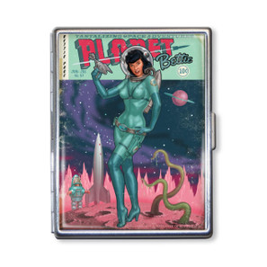 Bettie Page Planet Bettie Cigarette Case