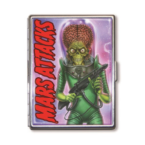 Mars Attacks Alien Invader Cigarette Case