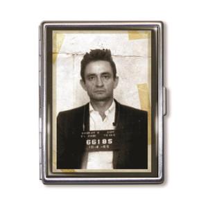 """""""The Man in Black"""" Mugshot Cigarette Case*"""