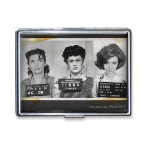 Housewives Mugshots Cigarette Case