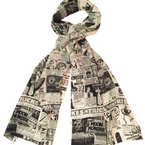 Monster Magazine Ads Fashion Scarf* -