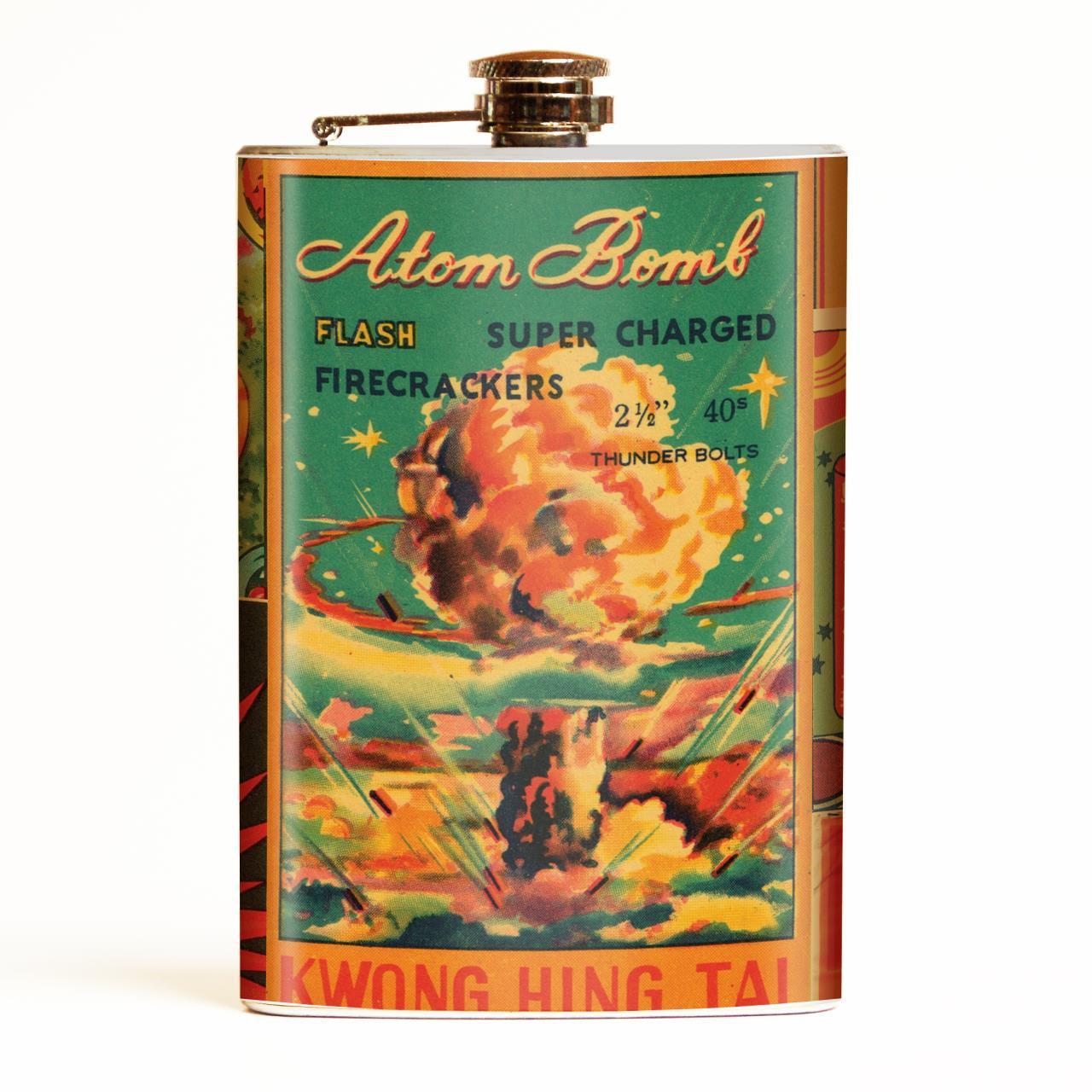 Atom Bomb Flask* -