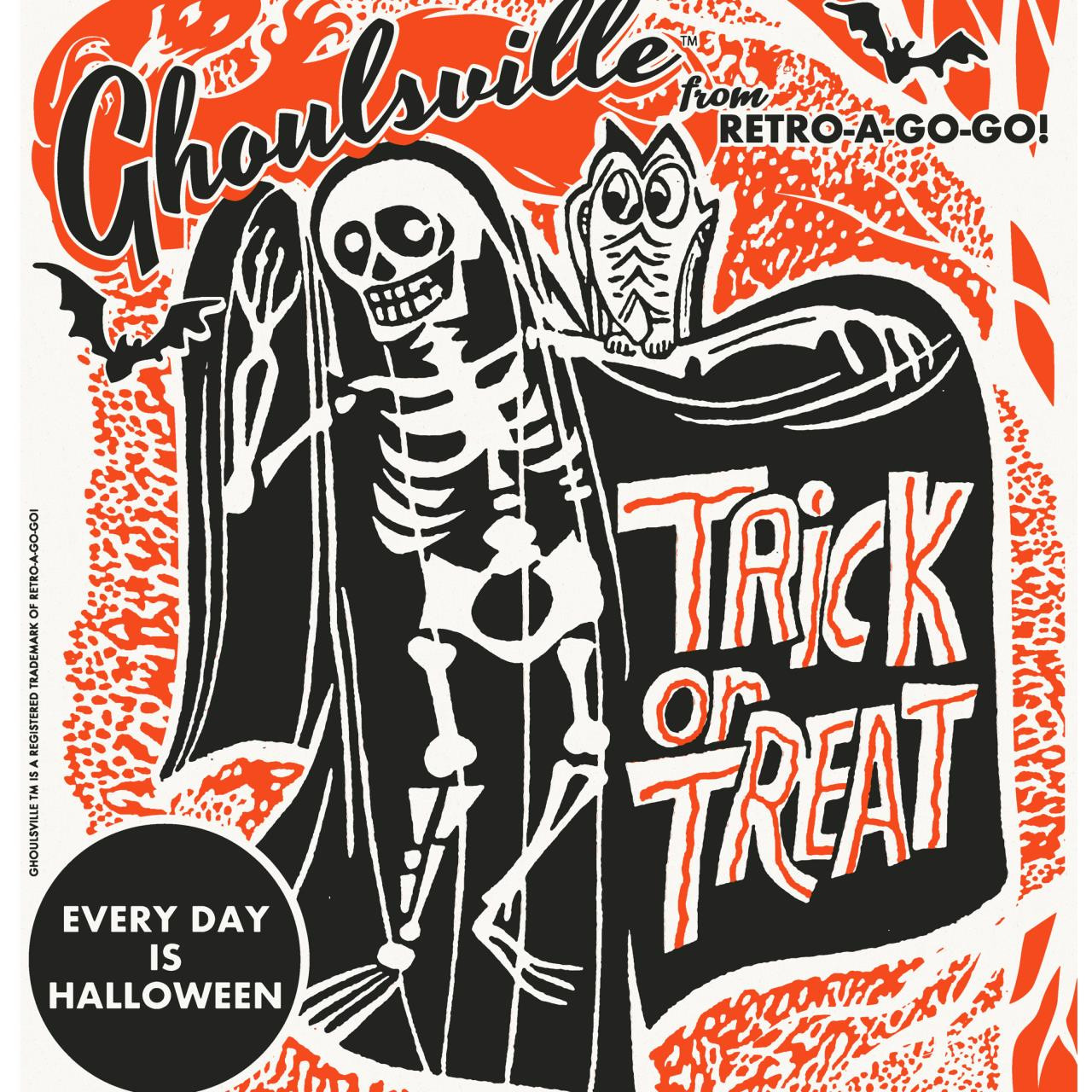 Ghoulsville Trick or Treat Bag* -