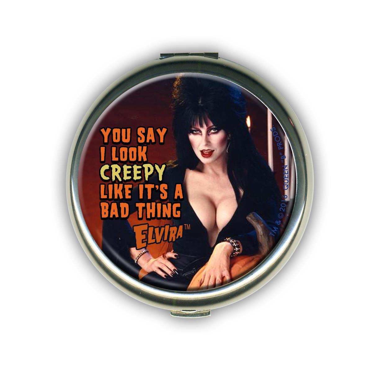 Elvira Creepy Compact Mirror* -