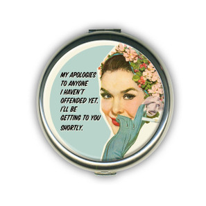 My Apologies Compact Mirror* -