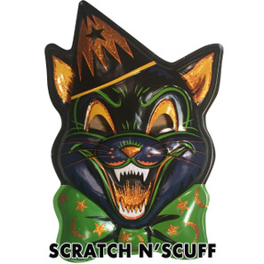 Scratch N' Scuff Magic Glitter Cat Vac-tastic Plastic Mask* -