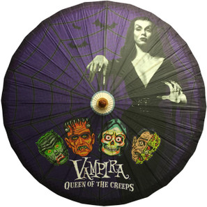 Vampira Queen Of Creeps Parasol* -