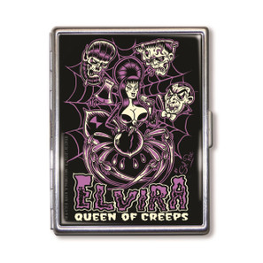 Elvira Queen Of Creeps Cigarette Case* -