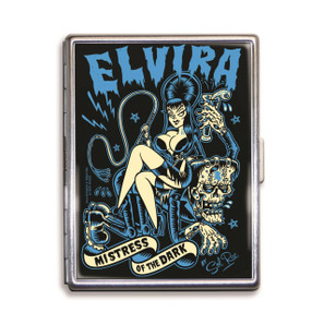 Elvira Mistress Of The Dark Cigarette Case* -
