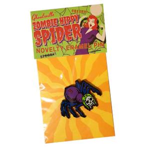 Zombie Spider Enamel Pin* - 0659682806433