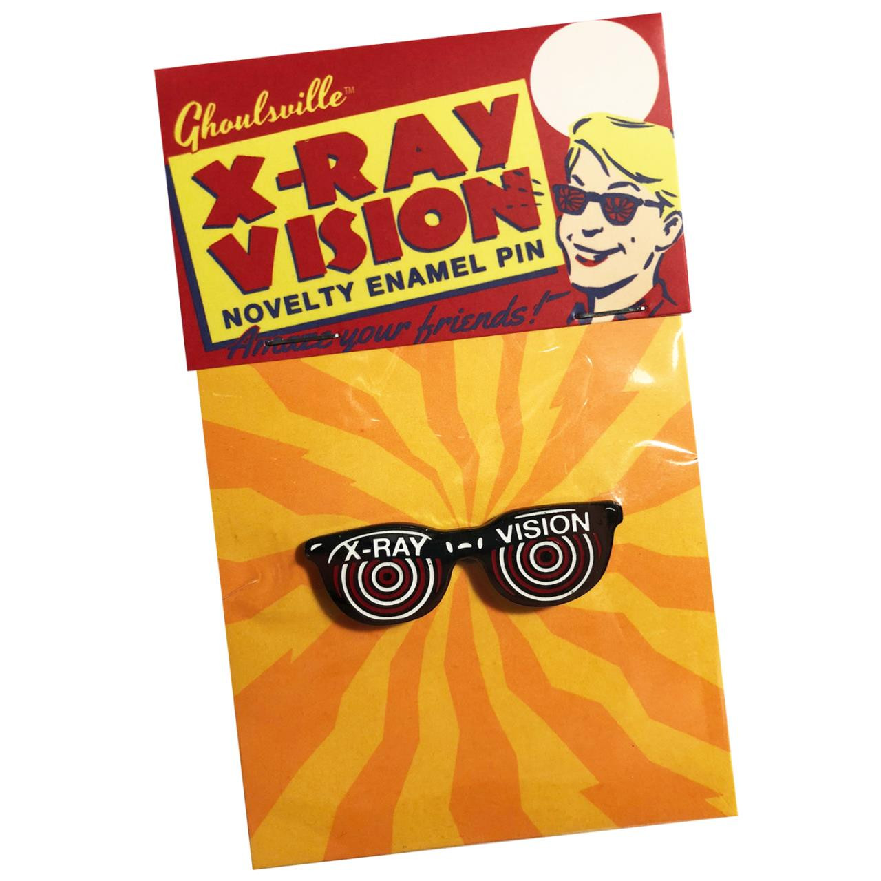 X-ray Enamel Pin* - 0659682806426