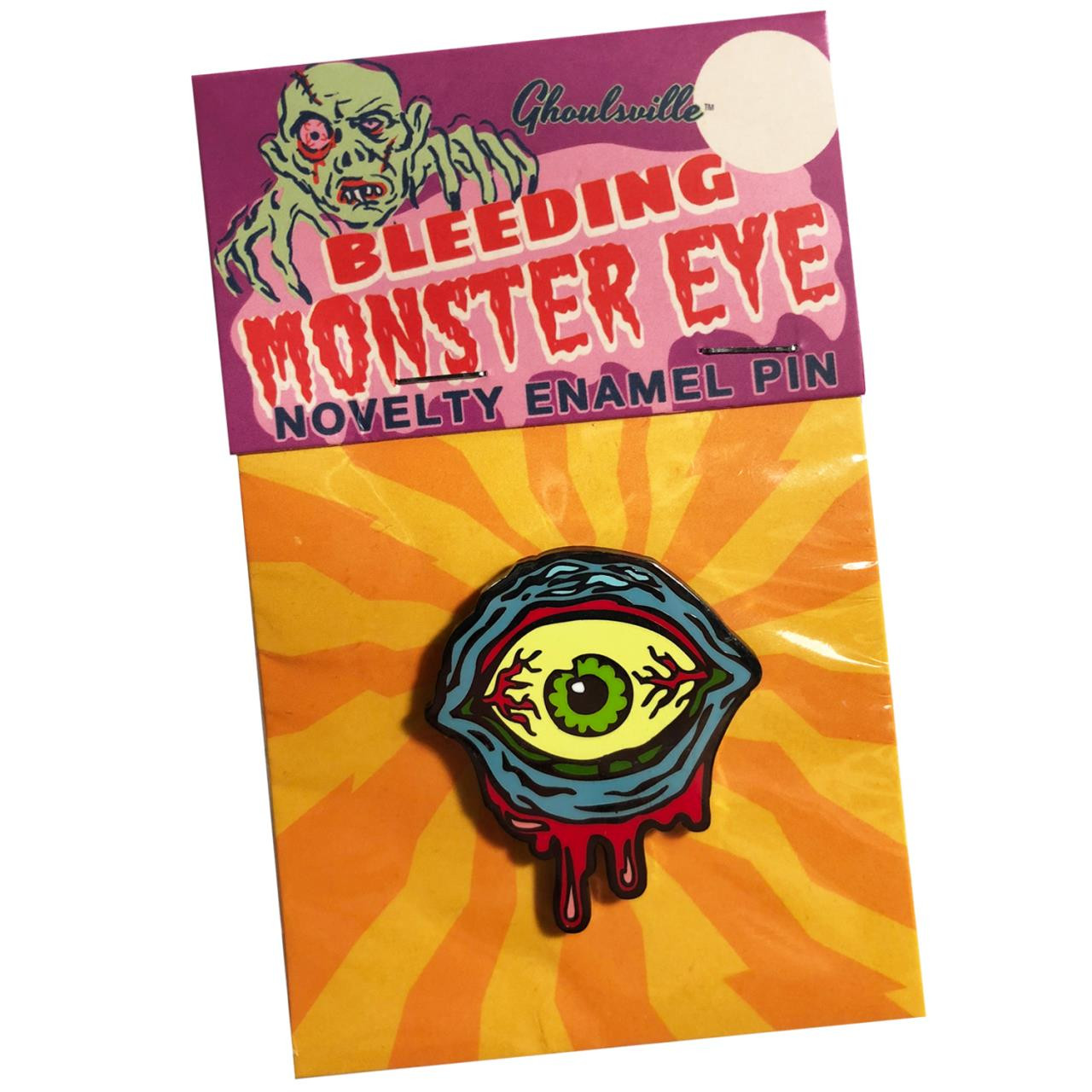 Monster Eye Enamel Pin* - 0659682806389