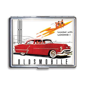 Oldsmobile Loaded with Looks Cigarette Case - LAST ONE!