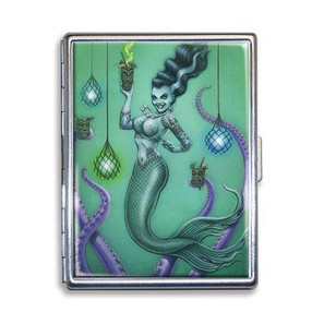 Franken Mermaid Cigarette Case - LAST ONE!