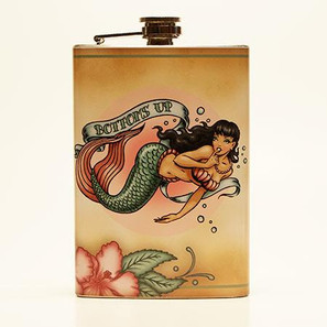 Bottoms Up Flask - OUT OF STOCK! -