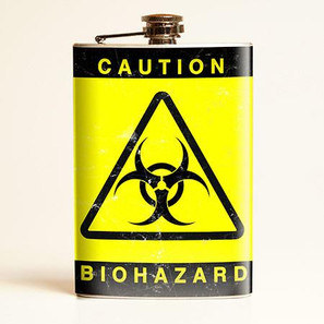Biohazard Flask - OUT OF STOCK!