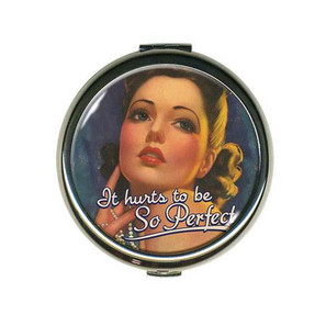 It Hurts to Be So Perfect Compact Mirror-OUT OF STOCK -