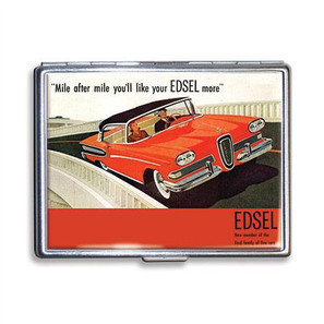 Ford Mile After Mile Edsel Cigarette Case