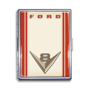 Ford Vintage V8 Logo Cigarette Case