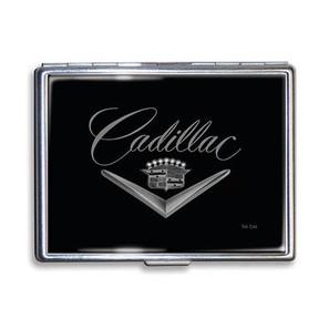 Vintage Cadillac Logo Cigarette Case