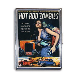 Hot Rod Zombies Cigarette Case