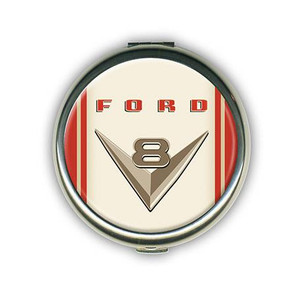 Ford Vintage V8 Compact Mirror