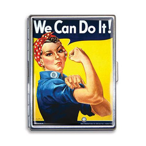 Rosie the Riveter Cigarette Case