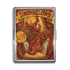 Theatre Bizarre Zombo the Clown Cigarette Case