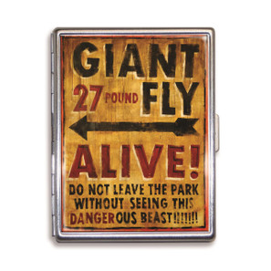 Theatre Bizarre Giant Fly Cigarette Case